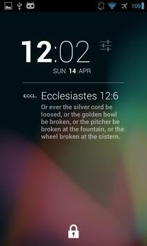 DashClock Bible Ecclesiastes poster