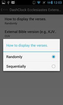 DashClock Bible Ecclesiastes apk screenshot