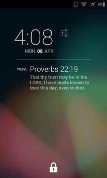 DashClock Bible Proverbs poster