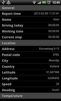 SafeFleet Lite fra SafeTrack apk screenshot