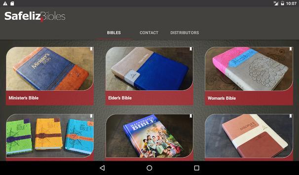 Safeliz Bibles apk screenshot