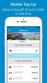 MobileTop-Up UK -paysafecard poster