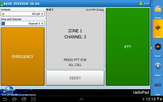 radioPad apk screenshot