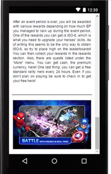 Guide for Marvel Mighty Heroes apk screenshot