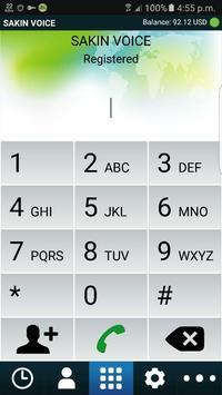 Sakin Voice Dialer poster