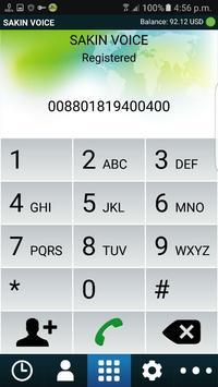 Sakin Voice Dialer apk screenshot