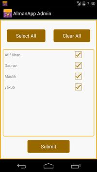 Admin AlmanApp apk screenshot