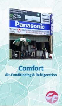Comfort Air-Conditioning poster