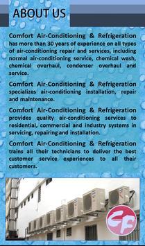 Comfort Air-Conditioning apk screenshot