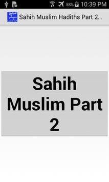 Sahih Muslim Hadith Part2 Urdu apk screenshot