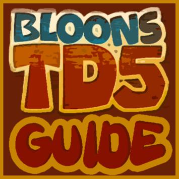 Bloons TD5 Guide apk screenshot