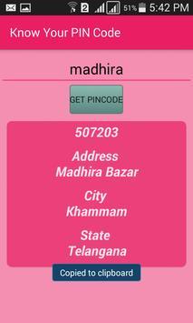 Indian Pincodes apk screenshot