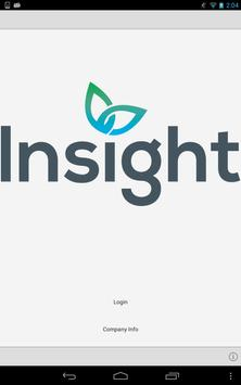 Insight Software Tablet App poster