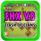 Fhx clash v8 offline icon