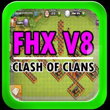 Fhx clash v8 offline poster