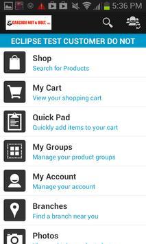 Cascade Nut and Bolt OE Touch apk screenshot