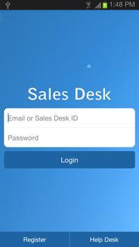 Sales Desk poster