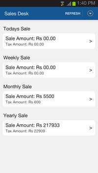 Sales Desk apk screenshot