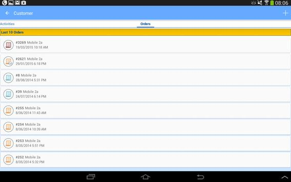 SalesAttach Mobile apk screenshot