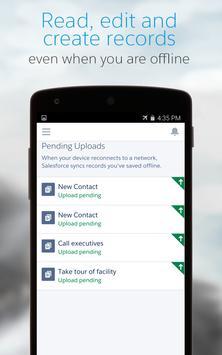 Salesforce1 apk screenshot