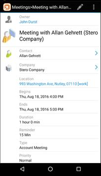 SalesNOW CRM for Android apk screenshot
