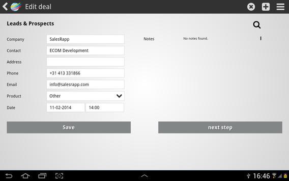 Heating Group SalesRapp apk screenshot