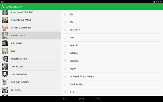 Şiir Defteri apk screenshot