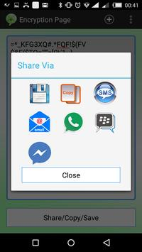 Encrypt Text and Pictures apk screenshot