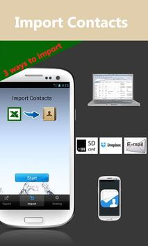 SA Contacts Lite apk screenshot