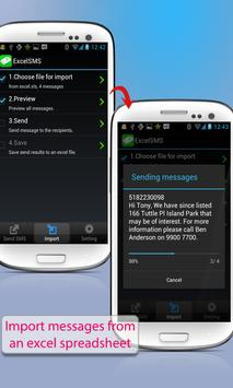 ExcelSMS Group sms plug-in 3 apk screenshot