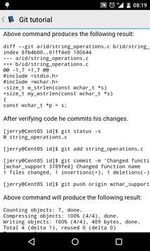 Git tutorial poster
