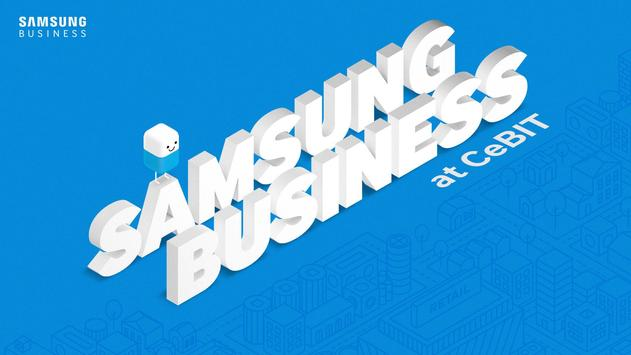Samsung Business at CeBIT poster