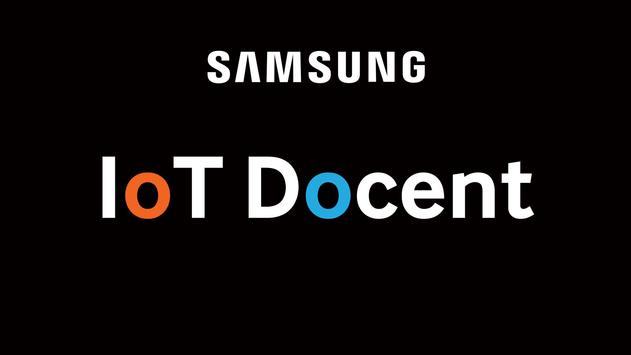 Samsung IoT Docent poster