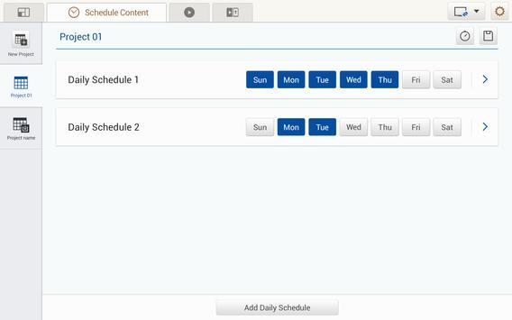 MagicInfo Tab Content Manager apk screenshot