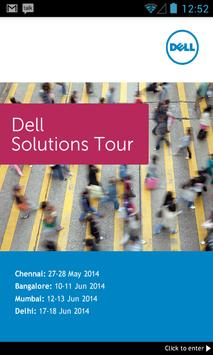 Dell Solutions Tour 2014 poster