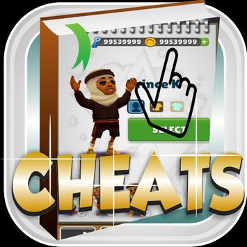 Cheats Subway Surfers apk screenshot