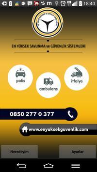 En Yüksek Güvenlik Yardım poster