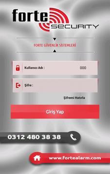 Forte Alarm Sinyal Takibi poster