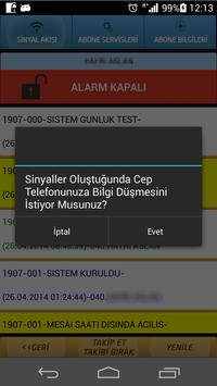 Forte Alarm Sinyal Takibi apk screenshot