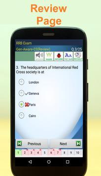 RRB Bank Exam apk screenshot