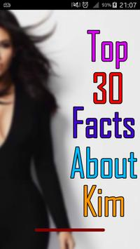 Kim Facts poster