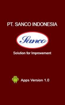 PT. Sanco Indonesia poster
