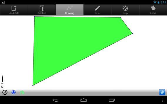 Metes and Bounds Basic Demo apk screenshot