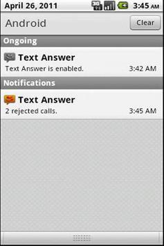 Text Answer apk screenshot
