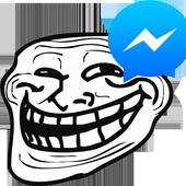 Meme face for Messenger icon