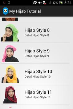 My Hijab Tutorial apk screenshot