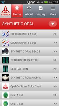 Sanwa Synthetic Opal poster