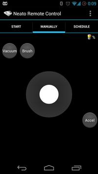 Remote Control for Neato Robot apk screenshot