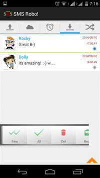 SMS Robo! apk screenshot