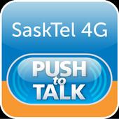 SaskTel 4G Push-to-Talk icon